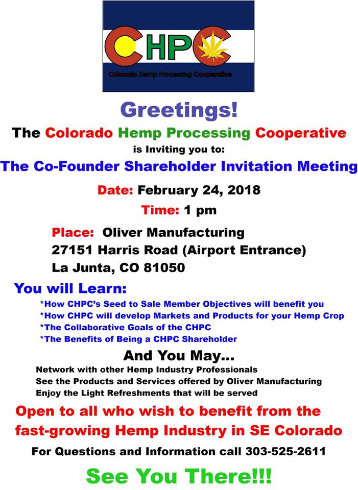 Colorado hemp meeting