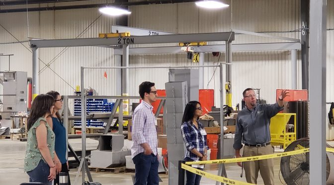 Congressional Staffers Visit Oliver Manufacturing, CEO Brian Burney Talks Tariffs